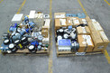 2 PALLETS OF ASSORTED INSTRUMENTATION UNITS, TRANSMITTERS, FLOW METERS, FOXBORO, MICRO MOTION, BTG