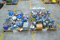 2 PALLETS OF ASSORTED INSTRUMENTATION UNITS, TRANSMITTERS, FLOWTUBES, ROSEMOUNT, FOXBORO, BROOKS