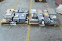 2 PALLETS OF ASSORTED DISCONNECT SWITCHES, SQUARE D, CROUSE-HINDS, FEDERAL PIONEER, CUTLER HAMMER