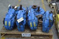 1 PALLET OF 6 DODGE TXT605TB TORQUE-ARM 2-7/16 IN 3-13/16 IN 64.3HP 5.67:1 SHAFT MOUNT GEAR REDUCER