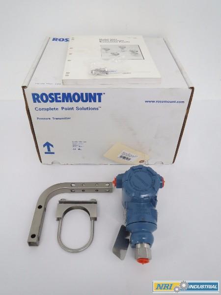 NEW ROSEMOUNT 3051TG1A2B21AB4 PRESSURE TRANSMITTER
