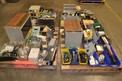 4 PALLETS OF ASSORTED ELECTRICAL, CIRCUIT BOARD ,RACKS, CONTROLLERS, POWER SUPPLIES