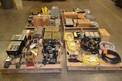 4 PALLETS OF ASSORTED ELECTRICAL, CONTROLS, CABLE, DRIVES, SIMIKRON, GE, GOULD