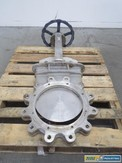 FCC 14B 14 IN 150 STAINLESS FLANGED KNIFE GATE VALVE