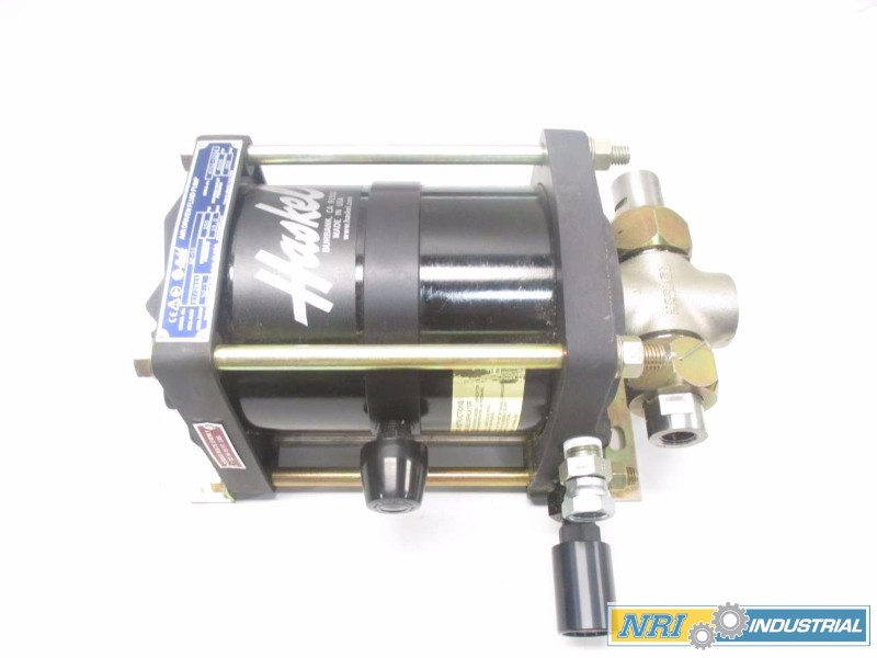 NEW HASKEL AW-52 52:1 8000PSI AIR DRIVEN FLUID PUMP