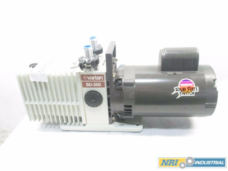 NEW VARIAN SD-200 VACUUM PUMP