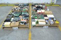 4 PALLETS OF ASSORTED CONTROLS MODULES, RELAYS, CONTROLLERS, HONEYWELL, ALLEN BRADLEY, ABB