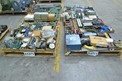 4 PALLETS OF ASSORTED CONTROLS MODULES, RELAYS, CONTROLLERS, FOXBORO, ALLEN BRADLEY, HONEYWELL