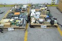 4 PALLETS OF ASSORTED CONTROLS MODULES, RELAYS, CONTROLLERS, HONEYWELL, ALLEN BRADLEY,