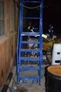 CANWAY MODEL 6H 6 STEP LADDER RATED LOAD 400 LBS.