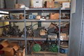 SHELF OF PNEUMATIC CONTROLLERS VALVE ACTUATORS AND PARTS