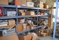 CONTENTS OF SHELVES TRANSMITTER PARTS POSITIONERS COMMUNICATION MODULES VALVE PARTS REPAIR KITS ROSEMOUNT EMERSON DELTA