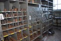 CONTENTS OF SHELVES ONLY DRILL BITS HOSE CLAMPS CRESCENT STRIKING WRENCHES SOCKET SKF