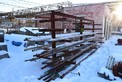 STEEL RACK 18 X 7 X 8 FEETWITH STEEL PIPING