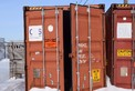 CTS RAIL STEEL RAILROAD CONTAINER 8FTX8FTX43FT