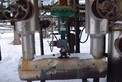 FISHER ED-657 4 INCH STEEL CONTROL VALVE CL300 3660 POSITIONER