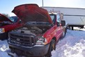 2004 FORD F350 SUPER DUTY VIN 1FDSF34L24EC49496 5.4L AUTOMATIC PICKUP FLAT DECK TRUCK