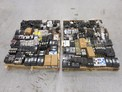 2 PALLETS OF ASSORTED CIRCUIT BREAKERS, CUTLER HAMMER, GE, ALLEN BRADLEY, WESTINGHOUSE, SQUARE D, I-LINE
