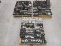 3 PALLETS OF ASSORTED CIRCUIT BREAKERS, CUTLER HAMMER, GE, ALLEN BRADLEY, WESTINGHOUSE, SQUARE D, I-LINE