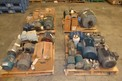 4 PALLETS OF ASSORTED AC / DC MOTORS, BALDOR, MARATHON, RELIANCE, A.O. SMITH, SEW