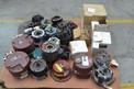 1 PALLET OF ASSORTED BRAKES, CLUTCHES, NEXEN, BOSTON GEAR, HORTON, WARNER
