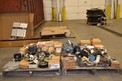 2 PALLETS OF ASSORTED BRAKES, CLUTCHES, ABB, DODGE, NEXEN, HORTON, BOSTON GEAR
