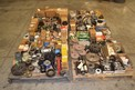 4 PALLETS OF ASSORTED SPROCKETS, SHEAVES, PULLEYS, OIL SEALS, MARTIN, CR, TSUBAKI, BROWNING
