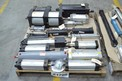 2 PALLETS OF ASSORTED PNEUMATIC CYLINDERS, PARKER, FESTO, NORGREN, BIMBA, SMC