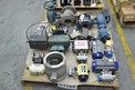1 PALLET OF ASSORTED STAINLESS BALL VALVES, NELES JAMESBURY, DEZURIK, KTM, FLOW-TEK