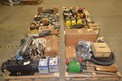 6 PALLETS OF ASSORTED VALVE REPLACEMENT PARTS, ACTUATORS, DIAPHRAGMS, STEMS, KEYSTONE, FISHER