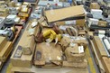 1 PALLET OF ASSORTED CAT CATERPILLAR POWER TRANSMISSION PARTS, SHAFTS, BEARINGS, SEALS