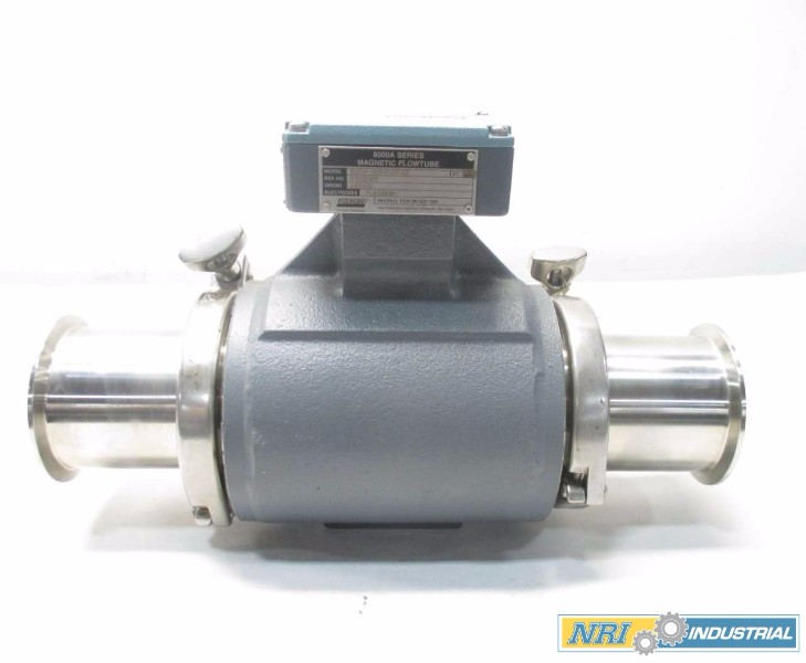 FOXBORO 8003A-SCR-PJGFGZ MAGNETIC TRI-CLAMP 3 IN FLOW TUBE FLOW METER