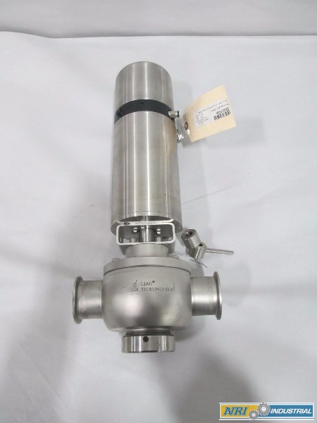 NEW LIAG 51C520N21 0677T004 99-B 2IN STAINLESS SANITARY DIVERT VALVE