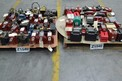 2 PALLETS OF ASSORTED TRANSFORMERS, ALLEN BRADLEY, HAMMOND, MTE, CUTLER HAMMER