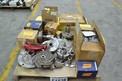 1 PALLET OF ASSORTED PUMP PARTS, IMPELLERS, MECHANICAL SEALS, CASINGS, GOULDS, ALLIS CHALMERS