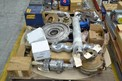 1 PALLET OF ASSORTED PUMP PARTS, IMPELLERS, CASINGS, MOYNO, JOHN CRANE, FLOWSERVE, ALLIS CHALMERS