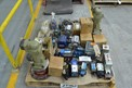 1 PALLET OF ASSORTED HYDRAULIC VALVES, HYDRAULIC PUMPS, VICKERS, PARKER, REXROTH, MOOG, IMO