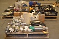 3 PALLETS OF VALVE REPLACEMENT PARTS, STEMS, ACTUATORS, POSITIONERS - FISHER TRI CLOVER
