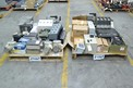 2 PALLETS OF ASSORTED ELECTRONICS, CONTROLLERS, MODULES, ALLEN BRADLEY, FOXBORO, SIEMENS, RELIANCE