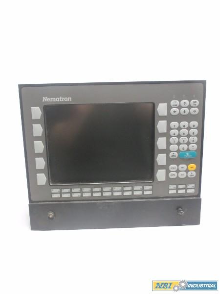 NEMATRON IC63A1-JFB1F4AF 90-250V-AC 8A AMP REV G OPERATOR INTERFACE PANEL