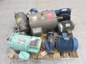 1 PALLET OF ASSORTED AC / DC MOTORS, BALDOR, MAGNETEK, TECO