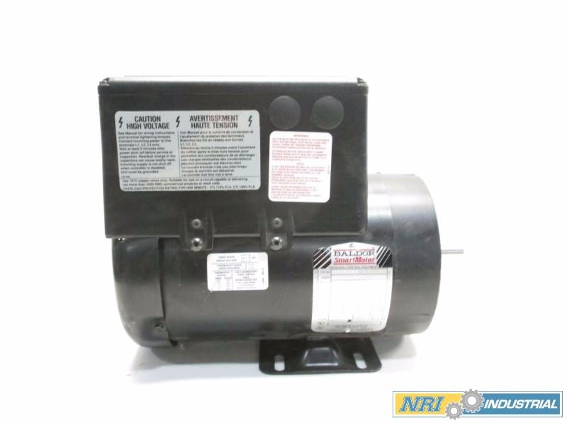 BALDOR CSM3546-4 SMARTMOTOR 1HP 460V-AC 3500RPM 56C 3PH ELECTRIC MOTOR