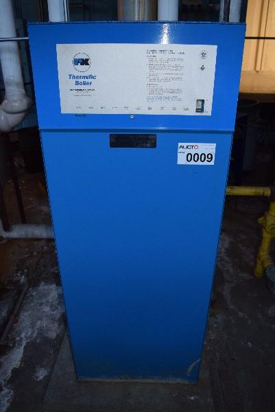 PATTERSON-KELLEY THERMIFIC GAS FIRED HEATING BOILER