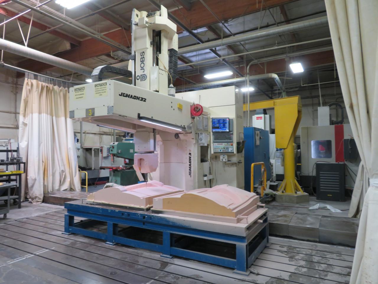 JOBS 5-Axis Vertical Machining Center, Jomach 32