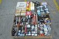 1 PALLET OF ASSORTED HAND TOOLS, WRENCHES, SOCKETS