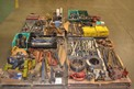 4 PALLETS OF ASSORTED TOOLS