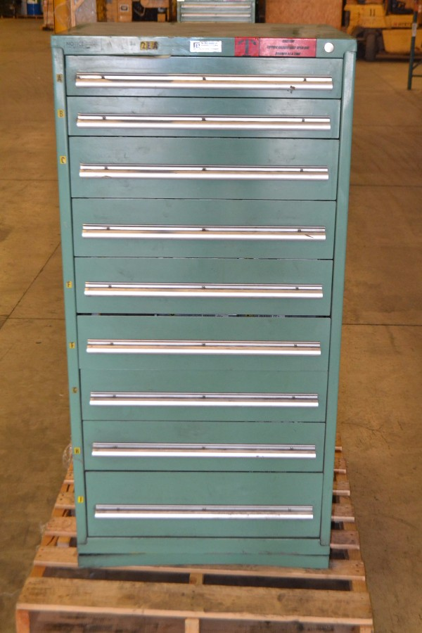 9 DRAWER TOOLBOX WITH CONTENTS