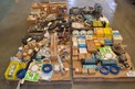 4 PALLETS OF ASSORTED REPLACEMENT PUMP PARTS