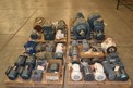 4 PALLETS OF ASSORETD AC MOTORS 0.33 TO 15 HP