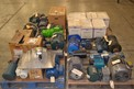 4 PALLETS OF ASSORTED AC MOTORS 0.5 TO 2 HP